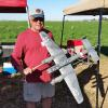 Bob Hodes and his beautiful Arado 440